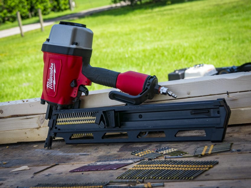 milwaukee nail gun reviews amazon